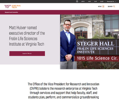 Research at Virginia Tech